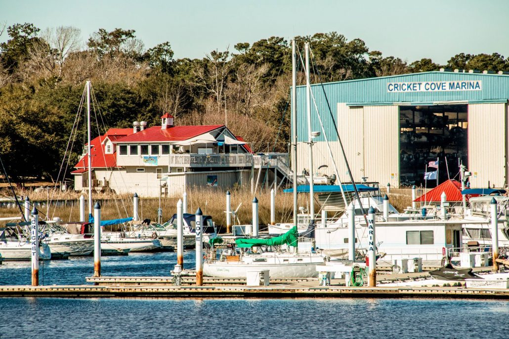 About Us Cricket Cove Marina